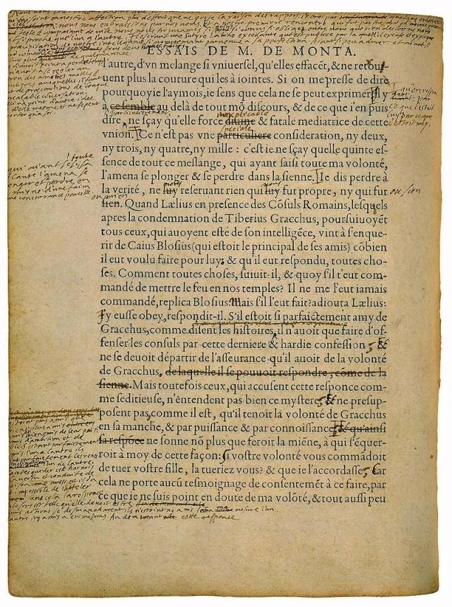 original manuscript